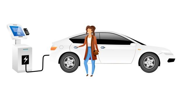 elektrische auto laden